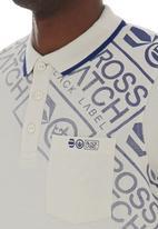Crosshatch - Fadelast golfer White