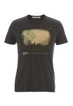 Ben Sherman - Printed T-shirt Grey