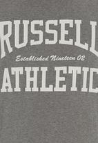 Russell Athletic - Arch Logo T-shirt Grey