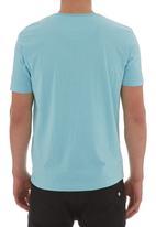Pride & Soul - Reuban T-shirt Mid Blue