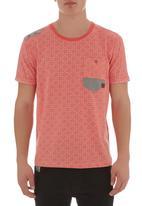 Smith & Jones - Queensdale T-shirt Red