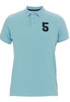 Pride & Soul - Adelanto Golfer Pale Blue