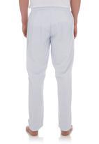 edge - Striped pyjama pants Blue/White