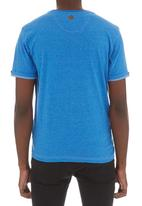 Smith & Jones - Marylbone tee Mid Blue