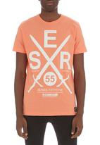 Crosshatch - Crossguns T-shirt Coral