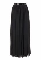 Blackeyed Susan - Mesh maxi skirt Black