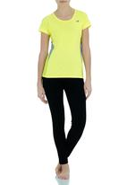 New Balance  - Active Tee Yellow
