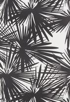 STYLE REPUBLIC - Printed scuba skirt Black/White
