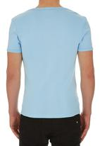 Lee  - Zone Muscle Tee Pale Blue
