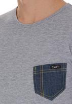 Lee  - Denim Pocket Tee Grey