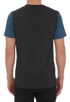 Hurley - One and Only Colour-blocked Tee Black