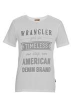 Wrangler - Timeless design T-shirt  Milk