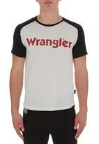 Wrangler - Straight forward T-shirt Milk
