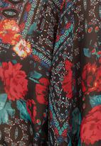 edit - Printed kaftan tunic Multi-colour