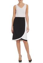 RUFF TUNG - Wrap Skirt Black/White