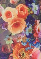 edit - Floral Shift Tunic Multi-colour