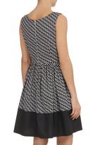 Coppelia - Imogen Dress Black/White