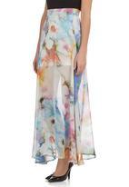 Leandra Designs - Waterfall Maxi Skirt Multi-colour