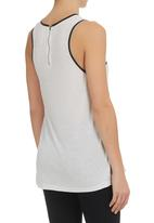 All About Eve - Structured Tank Pale Grey