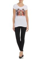 All About Eve - Hollywood Tee White