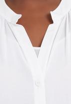 Megalo - Gypsy Shirt  White