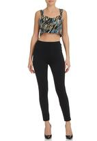 STYLE REPUBLIC - Printed crop top Multi-colour