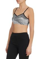 edge - Crop Top with Ruching Detail Multi-colour