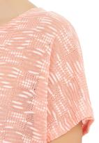 CRAVE - Tunic Tee Pale Pink