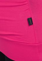 Cherry Melon - Wrap Top Pink