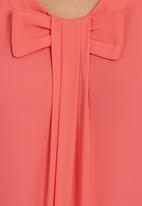 edit - Blouse With Bow Coral