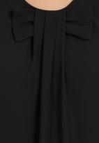edit - Blouse With Bow Black