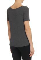 MARETHCOLLEEN - Printed T-shirt Grey