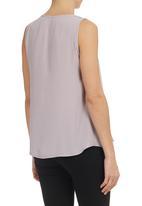 edit - V-neck Blouse Pale Purple