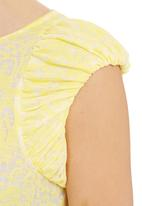 adam&eve; - Estee Top With Gathered Detail Yellow
