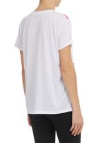 STYLE REPUBLIC - Flamingo-print Boxy T-shirt White