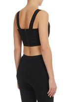 Blackeyed Susan - Bralet Black