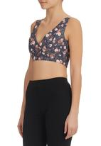 Blackeyed Susan - Denim Bralet Multi-colour