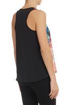 Blackeyed Susan - Floral Vest Multi-colour