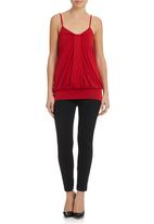 Laundry - Cami Red