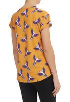 BellField - Parrot-print T-shirt Multi-colour