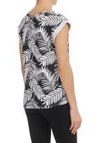BellField - Palm Tree T-shirt Multi-colour