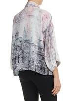 Cheryl Arthur - Willow City Kimono Multi-colour