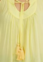 Nucleus - Tassel Top Yellow