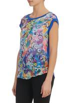 STYLE REPUBLIC - Floral Combo Top Multi-colour