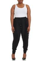 City Chic - Urban Harem Pants Black