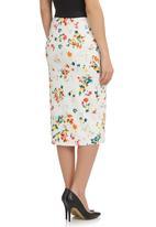 STYLE REPUBLIC - Pencil skirt Multi-colour
