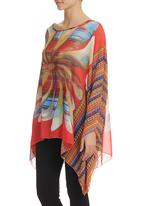 edit - Kaftan Top Coral