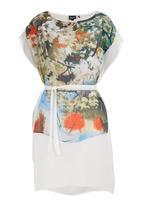 Marique Yssel - Sheer Tunic Dress Multi-colour