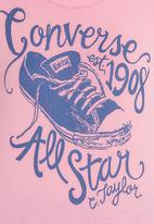 Converse - Concerse chuck tee Mid Pink