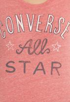 Converse - Converse All Star SS Crew-neck Tee Pink